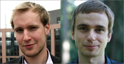 Constantin Schäfer und Paul Rünz